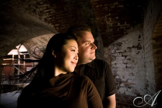 A Fort Point Engagement with Krista & Andy
