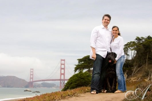 Family Portraits: Maya, Drew & Duke