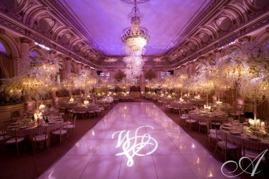 Wedding at The Plaza designed by David Tutera