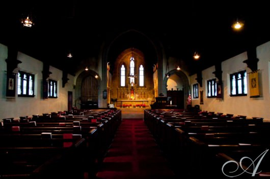 picturesque boston church- wedding chapel cambridge ma