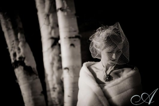 killington_vt_winter_bride snow wedding- bride in fur