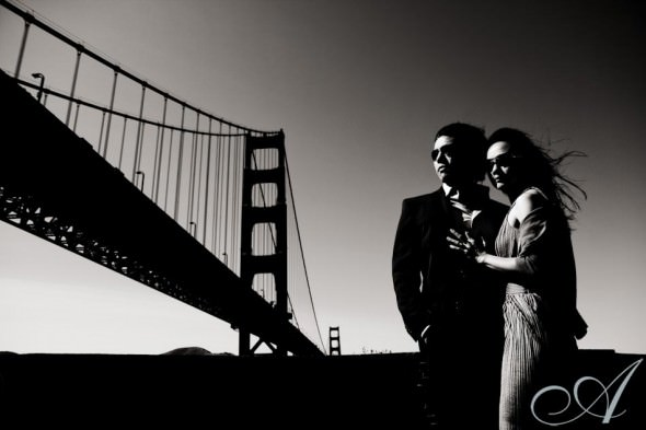 jilanne_doug_golden gate bridge engagement session in sf