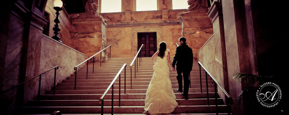 Boston Public Library Wedding: Boston with a Twist