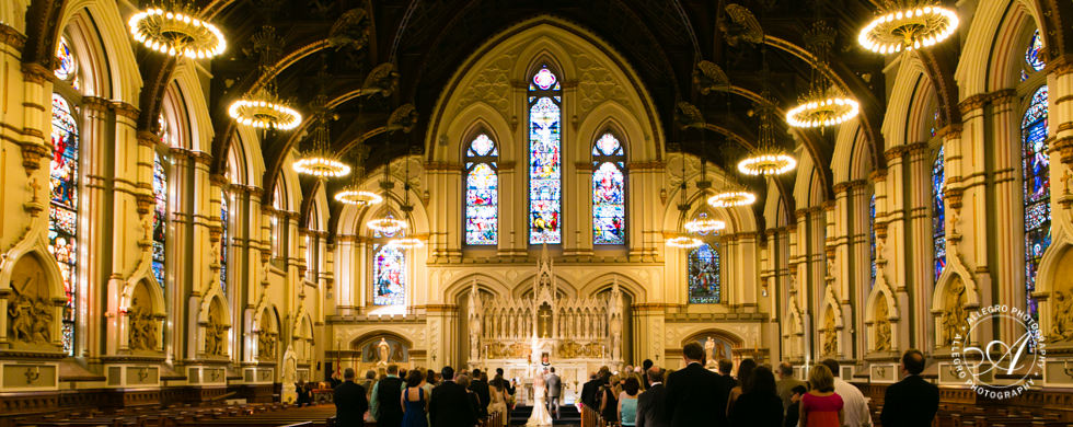 St. Mary's Church Wedding: Chris + Gary Part 1