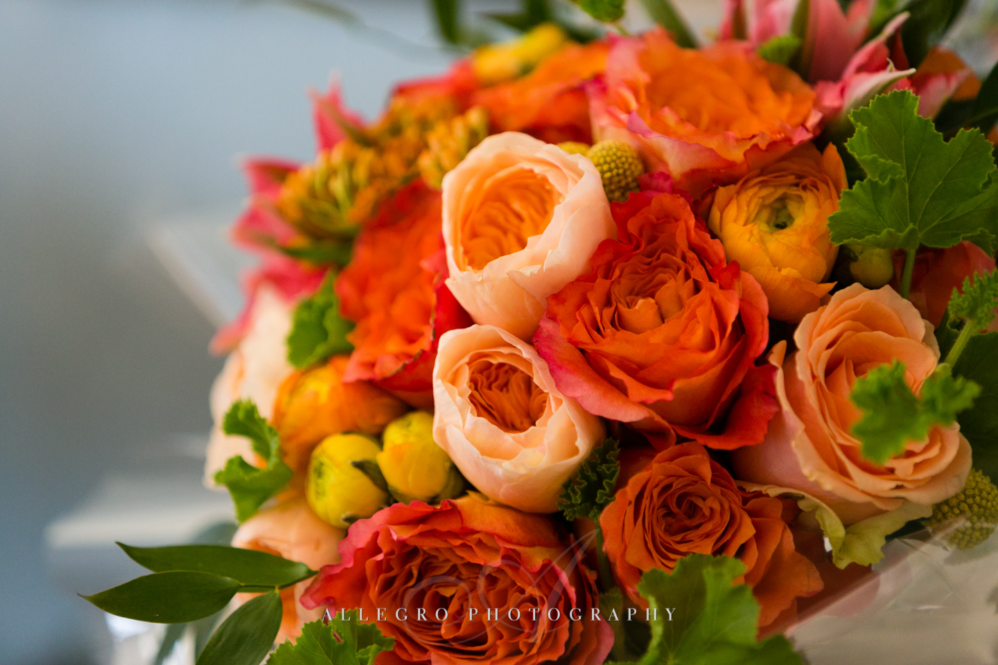 fall wedding flowers boston - photographed by Allegro Photography