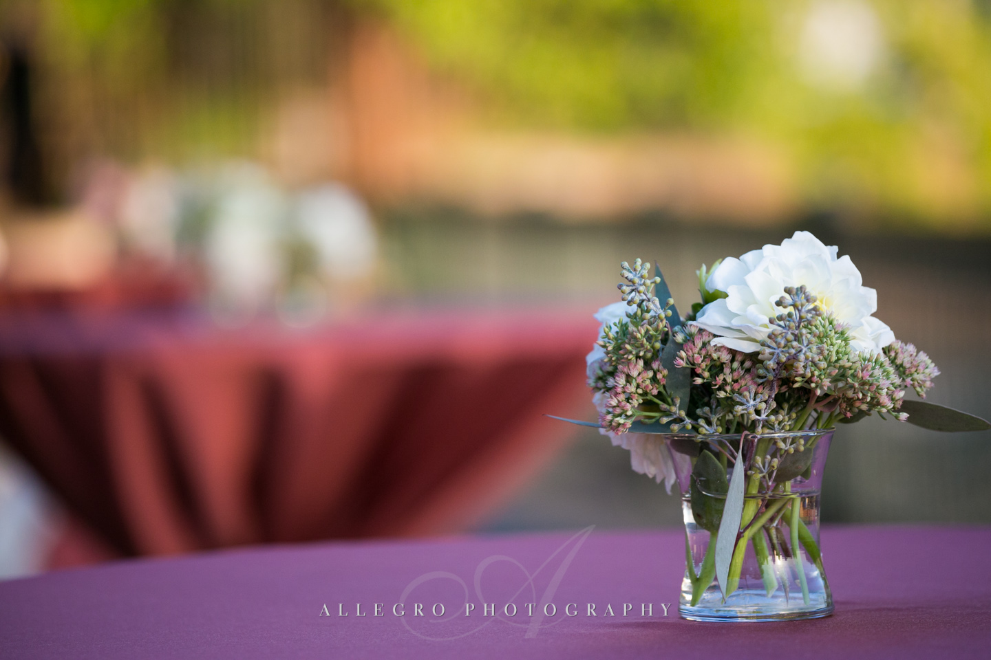 fall wedding neutrals flowers boston - photographed by Allegro Photography
