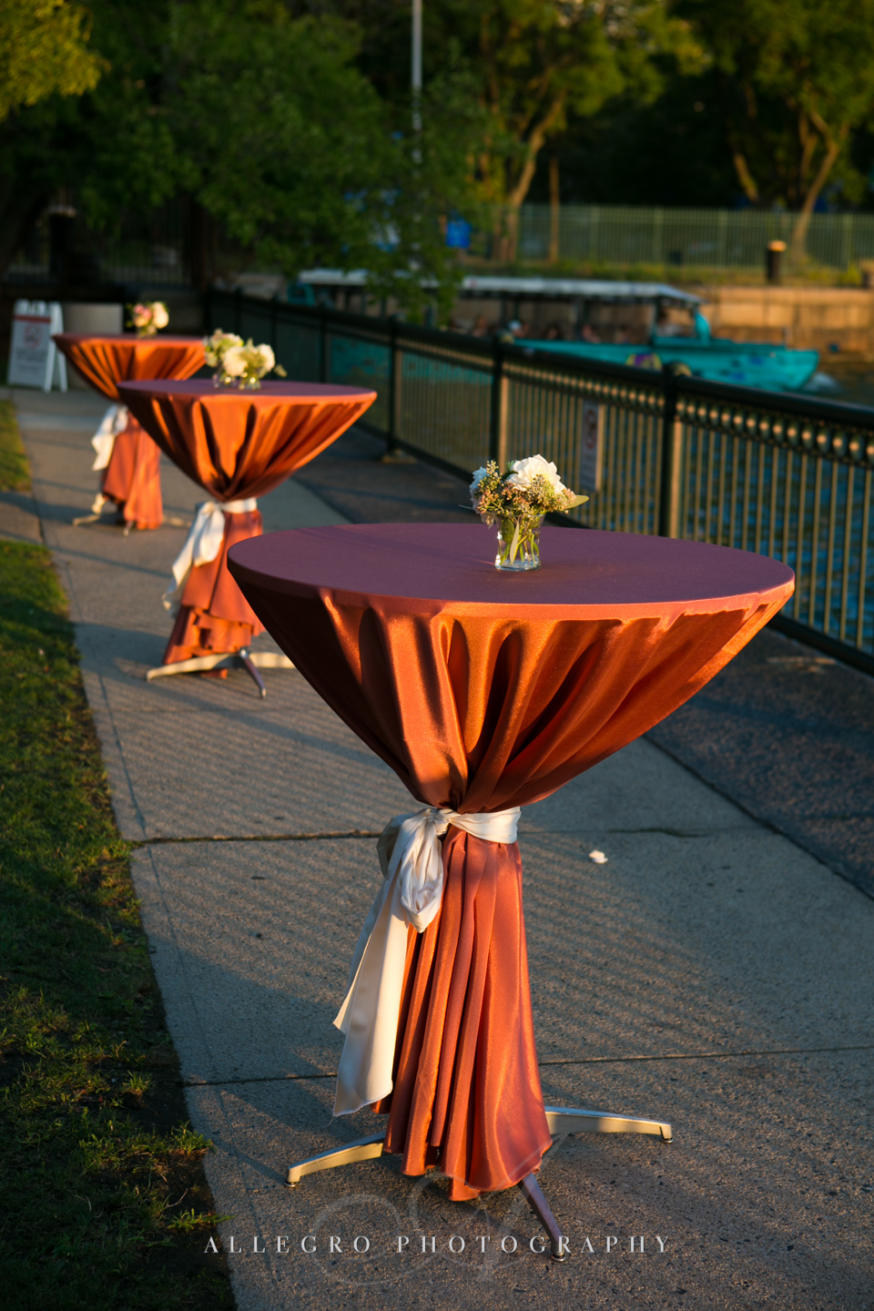 fall wedding table decor boston - photographed by Allegro Photography
