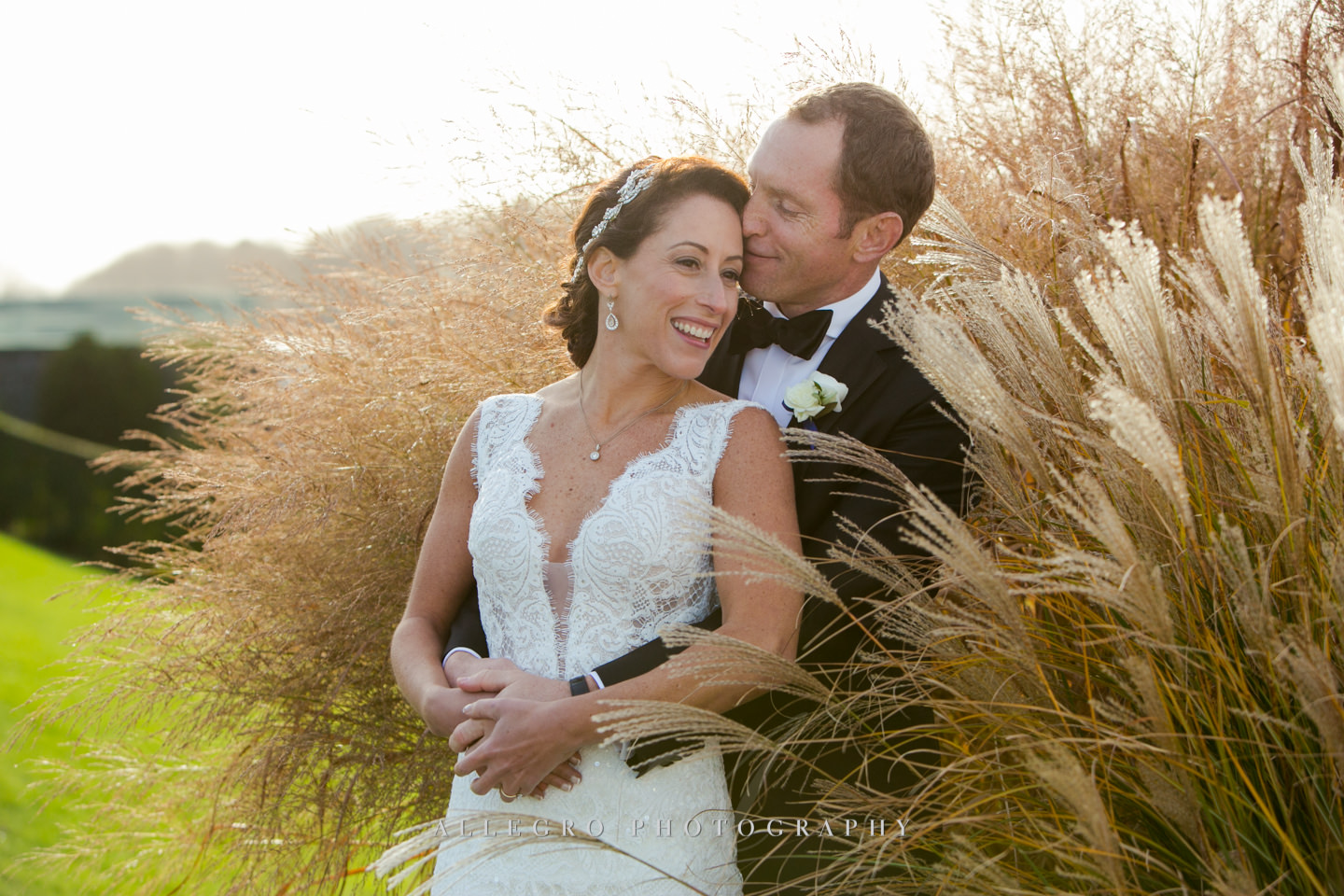 among the grasses at oceancliff -photo by Allegro Photography