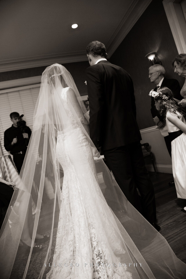 ketubah signing ceremony- jewish tradition -photo by Allegro Photography