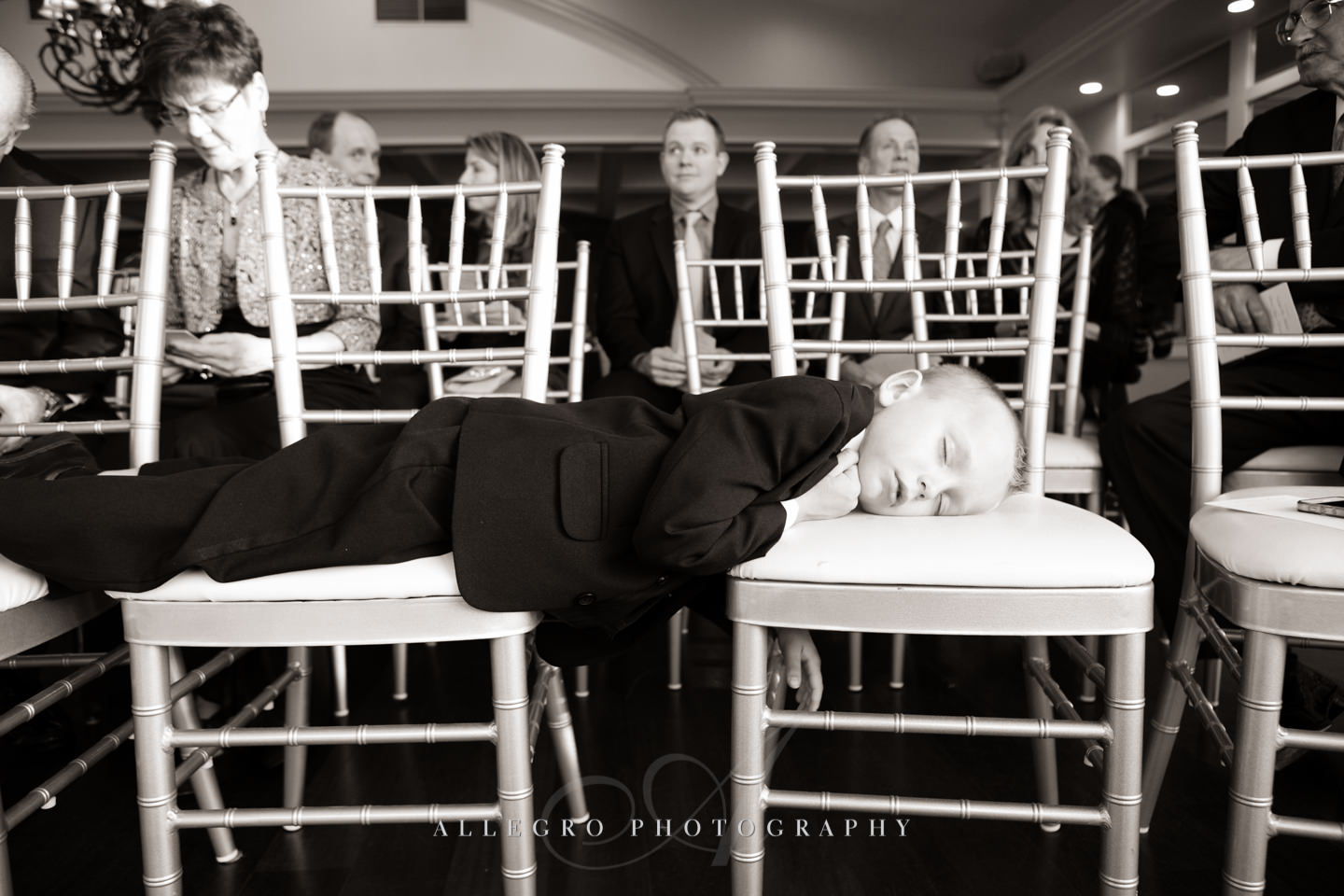 so much excitement and the chuppah ceremony hasn't event started yet -photo by Allegro Photography