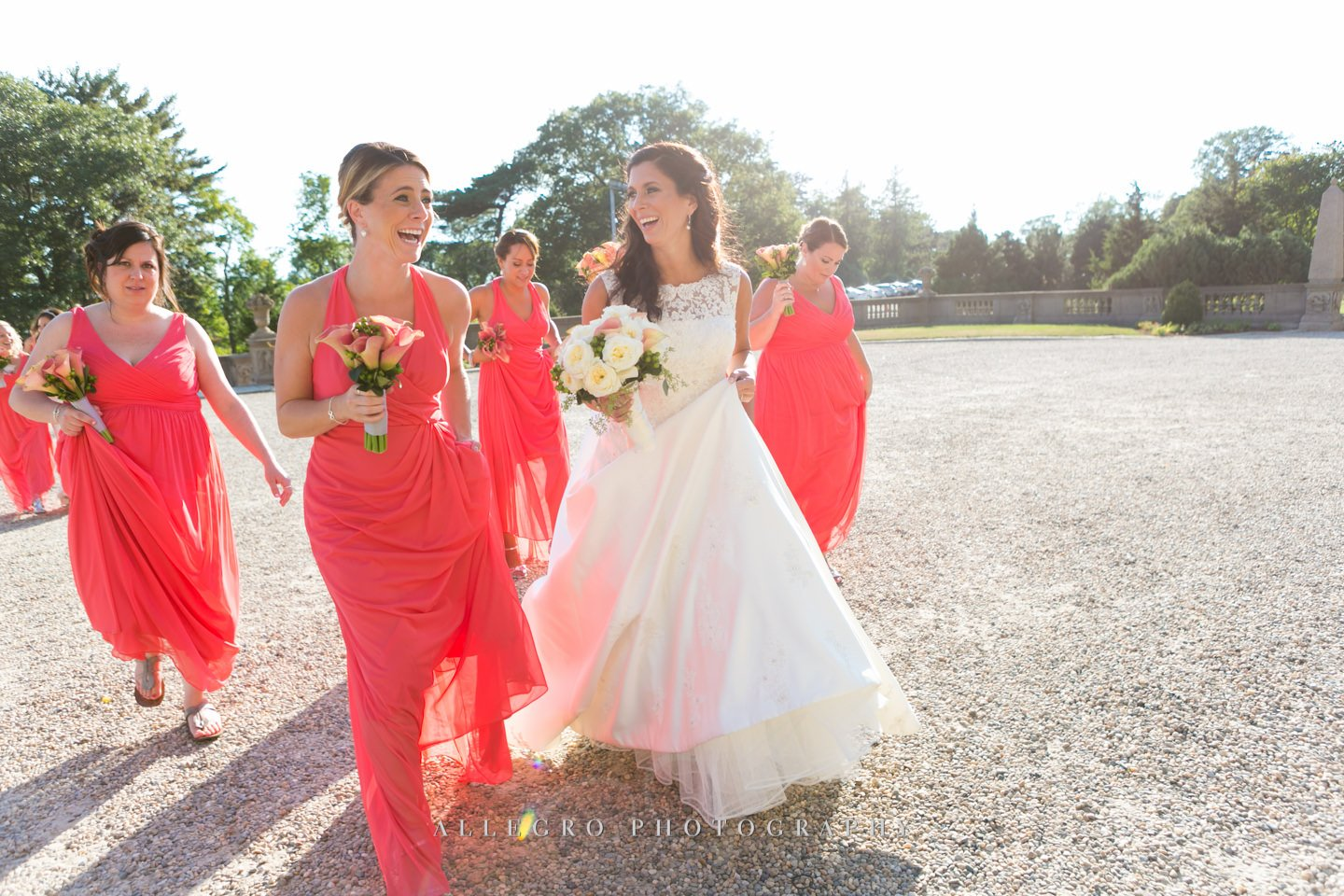 bridesmaids - photo by Allegro Photography