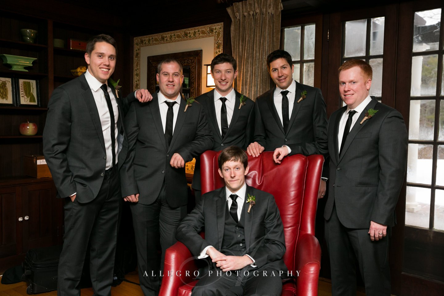 the boys- groomsmen