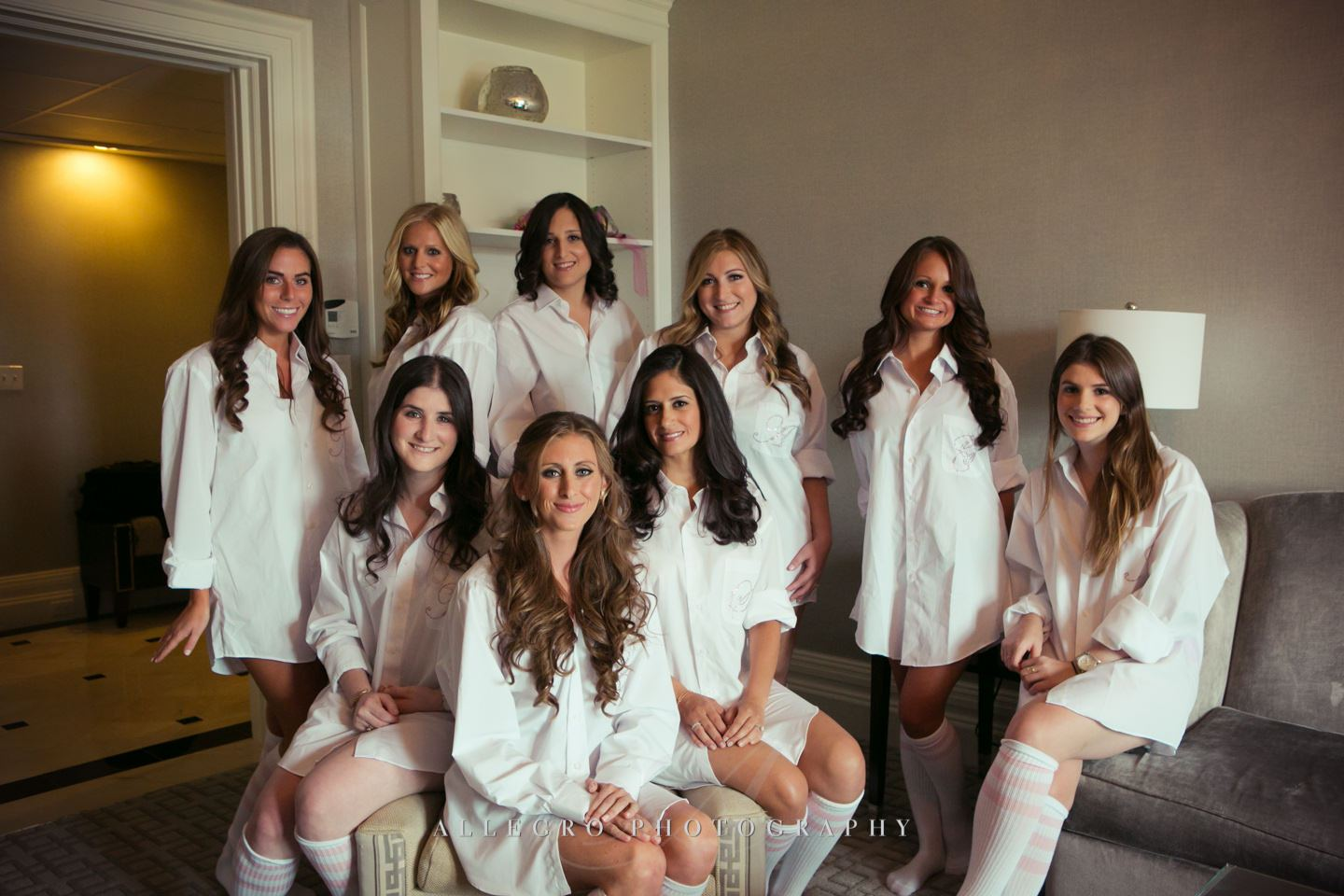 the ladies - jewish wedding- photo by Allegro Photography
