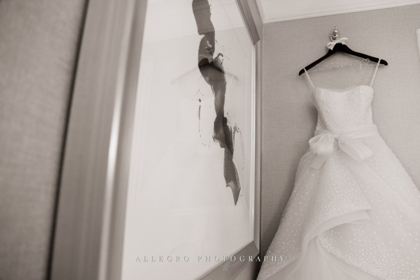 the dress by Rivini- from Kleinfelds - photo by Allegro Photography