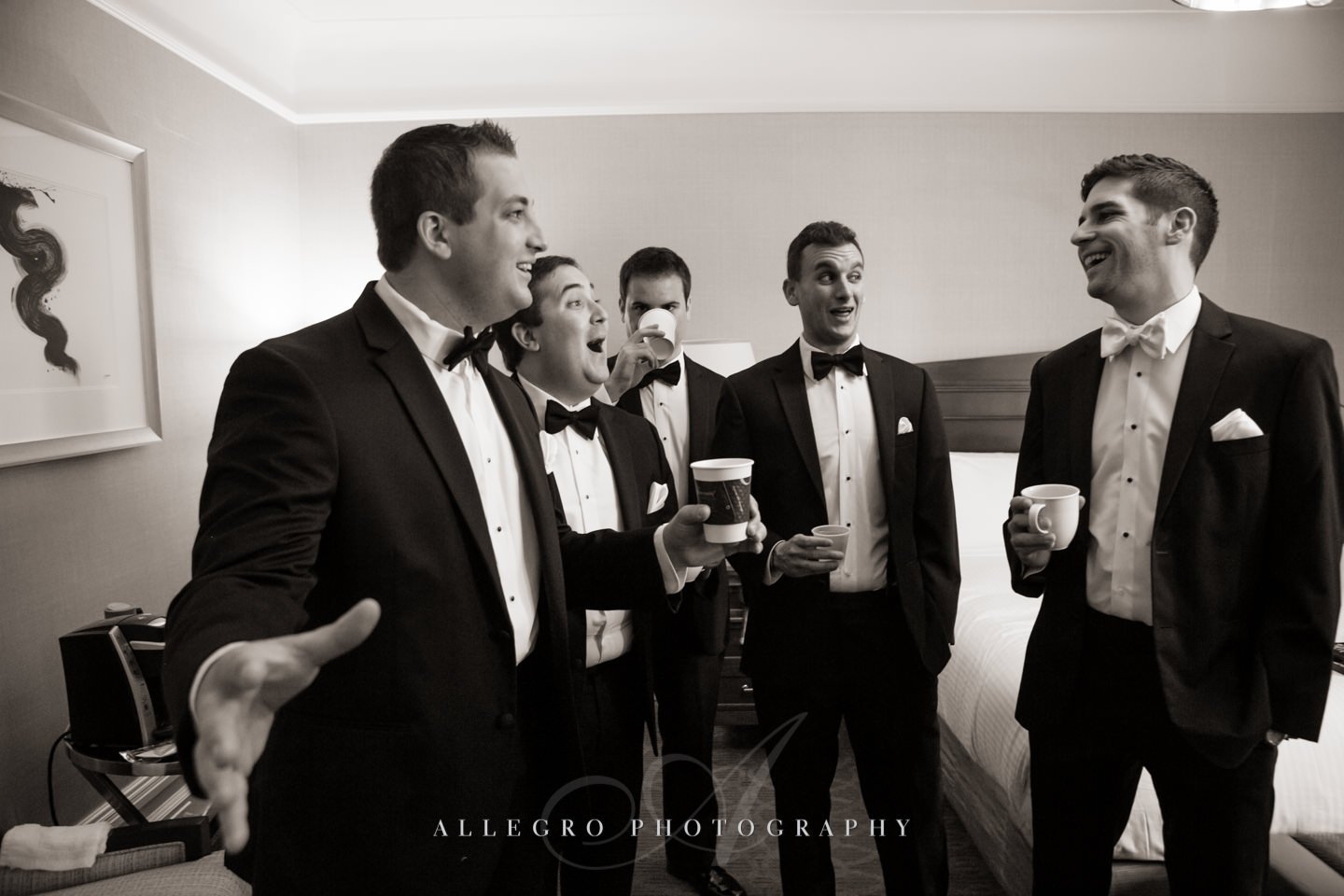 groomsmen - photo by Allegro Photography