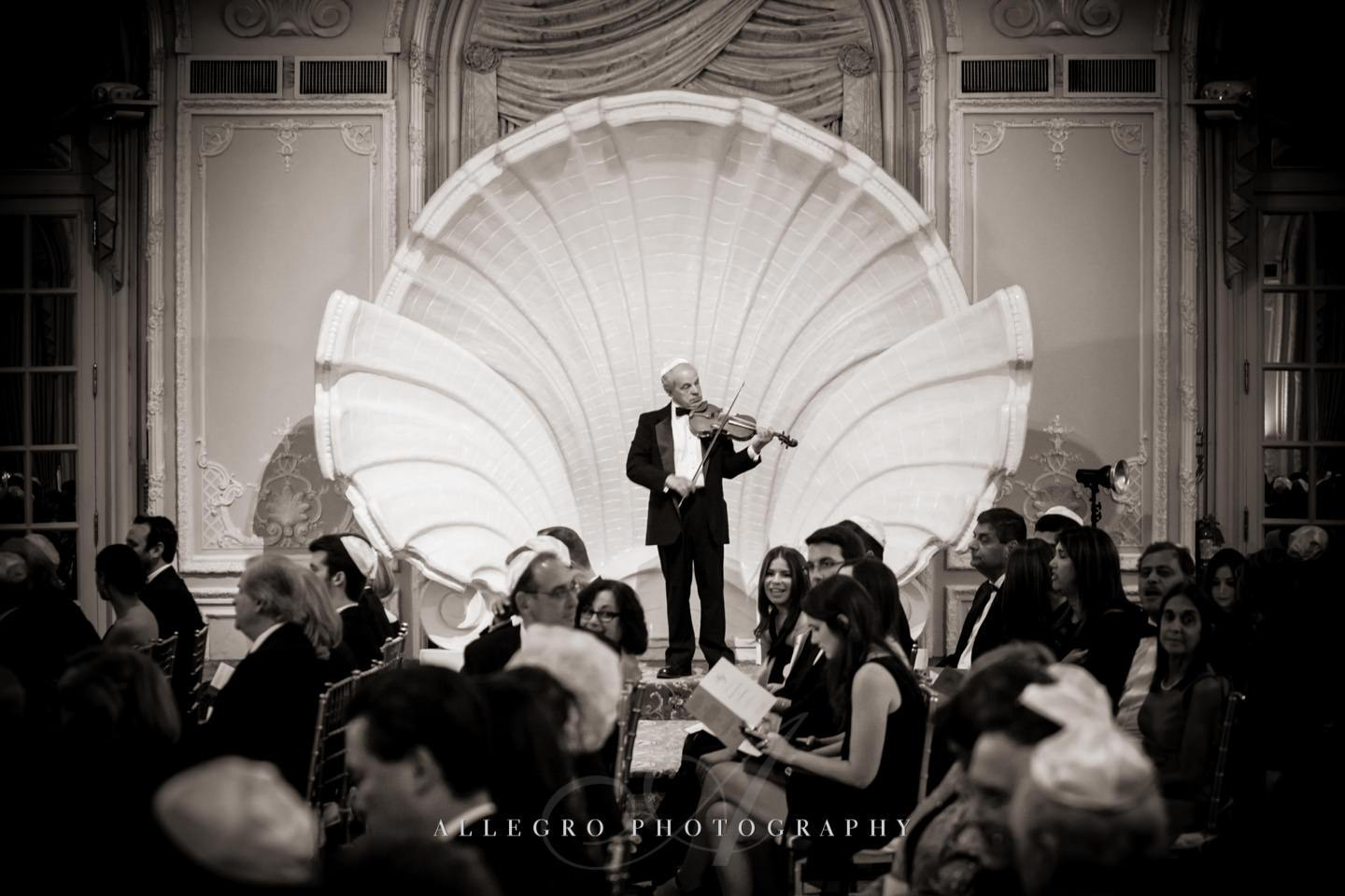 ceremony music - photo by allegro photography