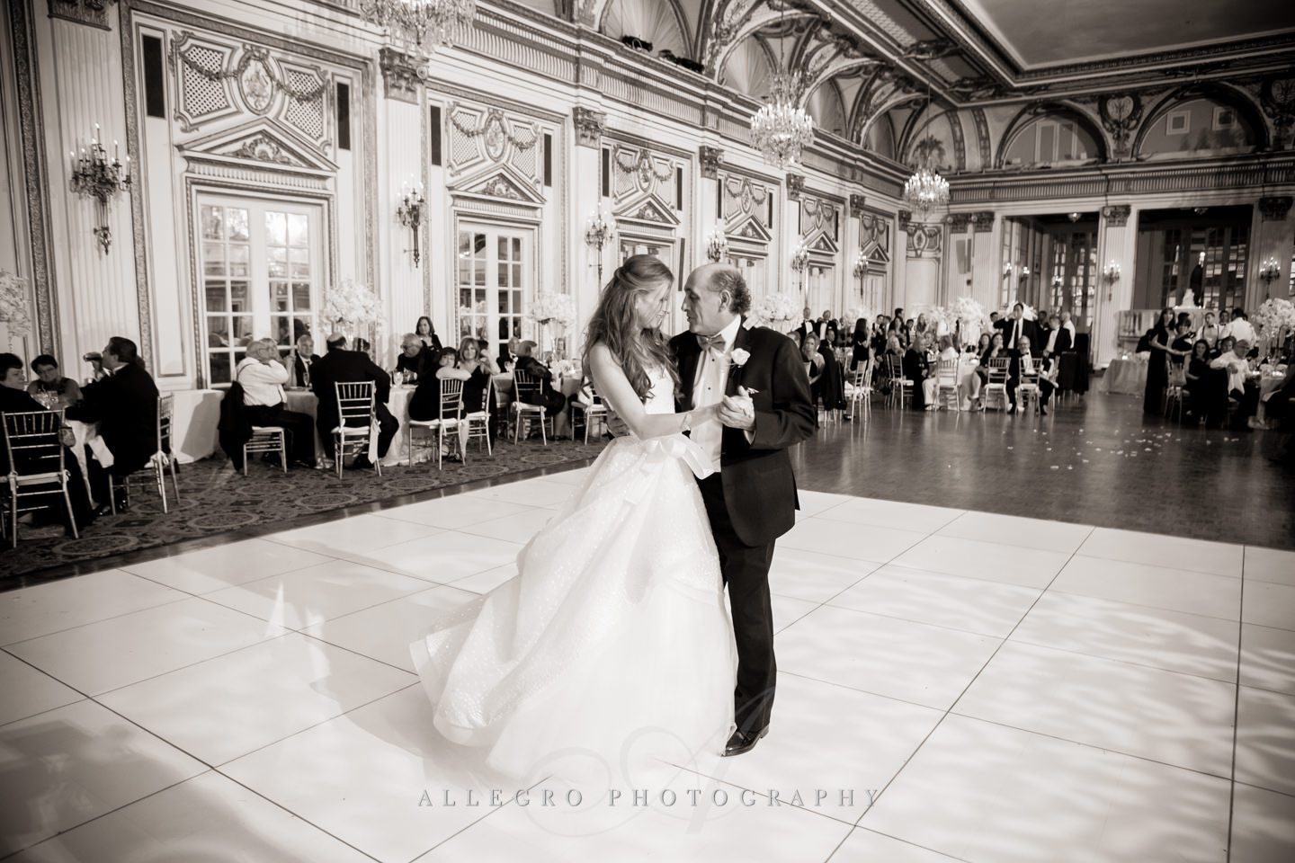 father daughter dance- photo by allegro photography