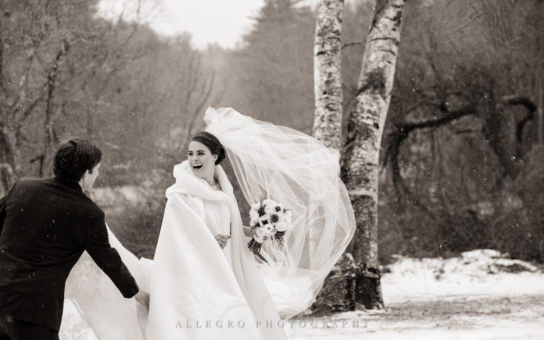 willowdale estate winter wedding