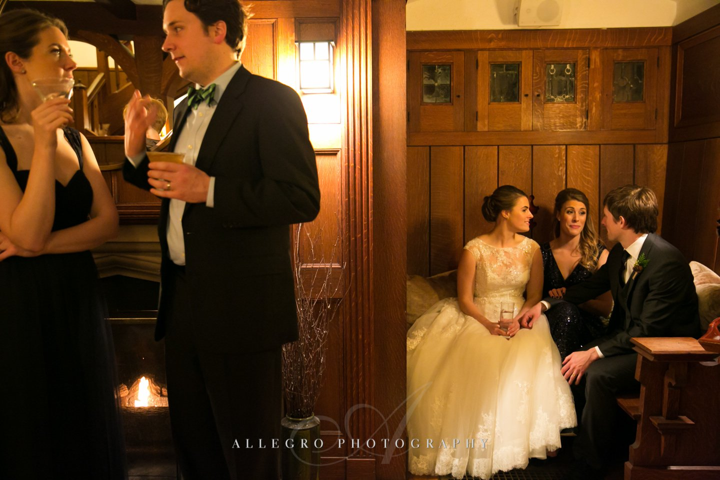 couple in a corner - photo by allegro photography