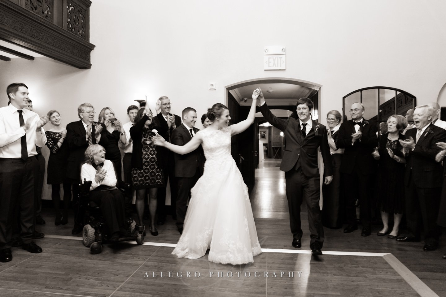 entrance - photo by allegro photography