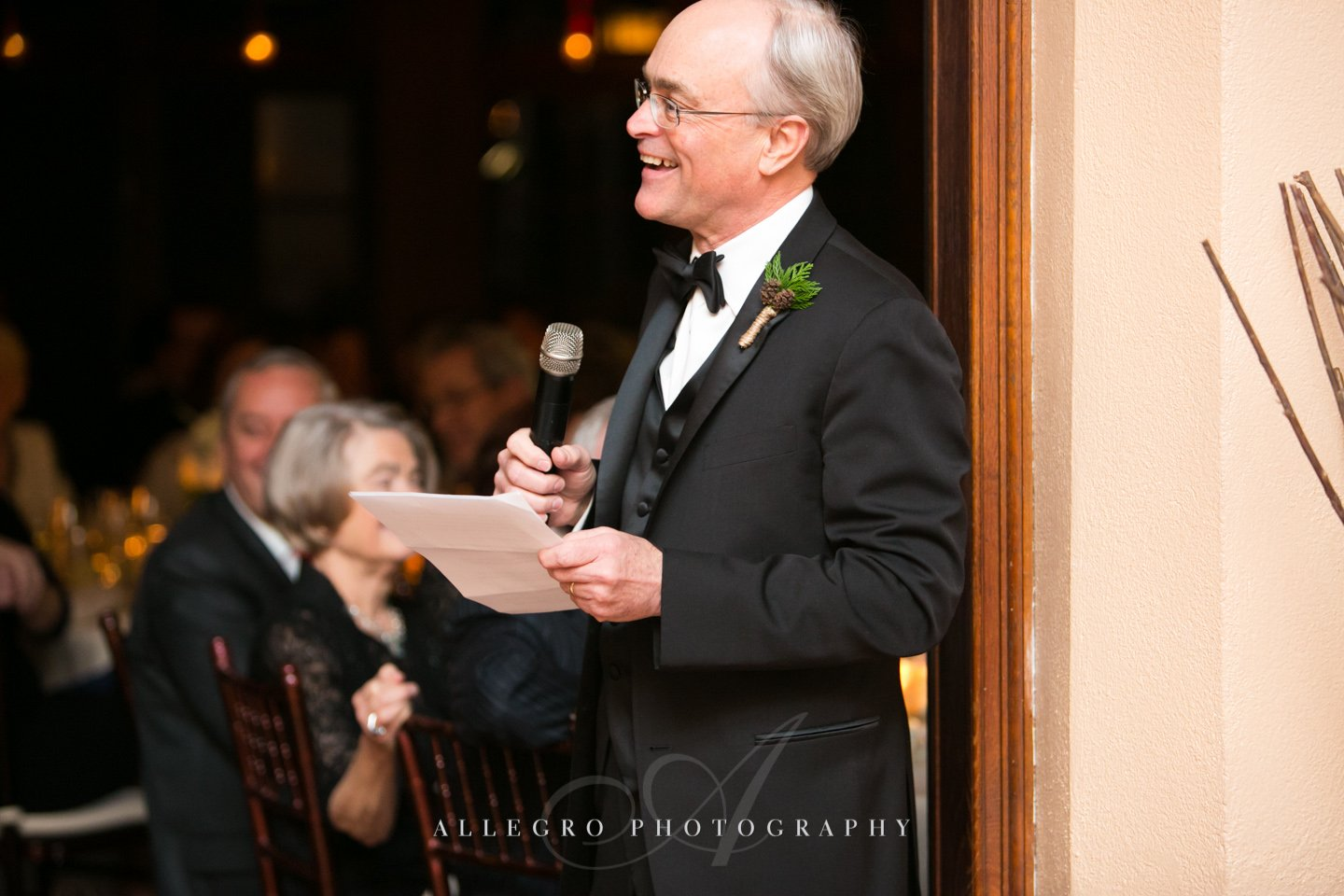 dad toast - photo by allegro photography