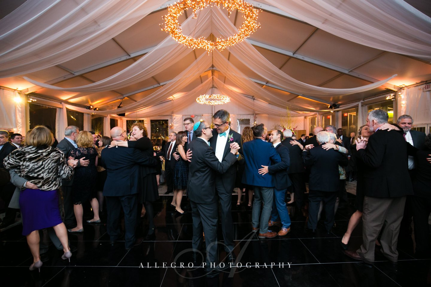 dancing - photo by Allegro Photography