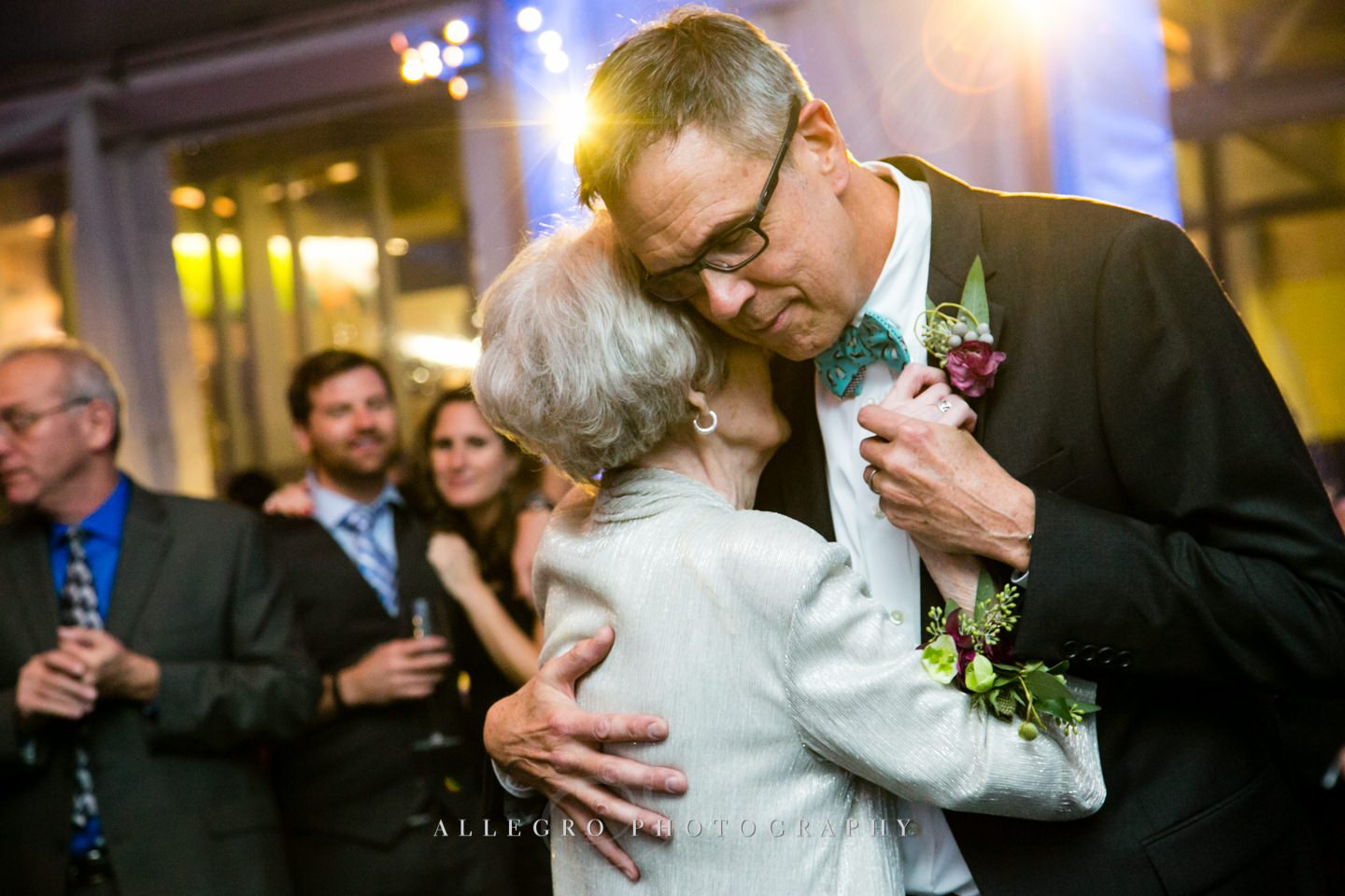 mother son dance - photo by Allegro Photography