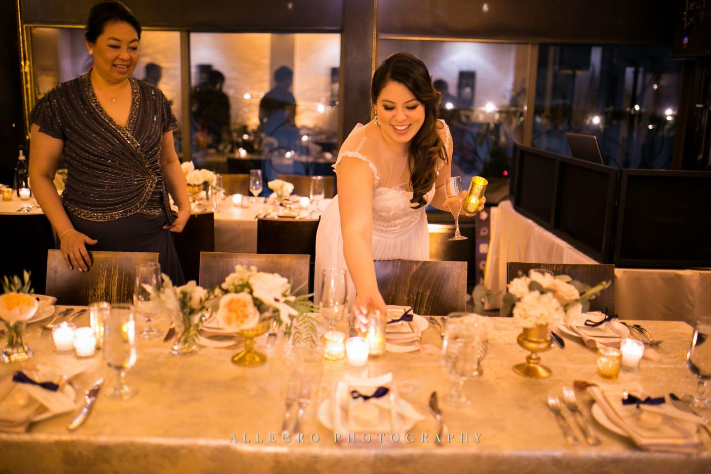 the planner at her own wedding - photo by Allegro Photography