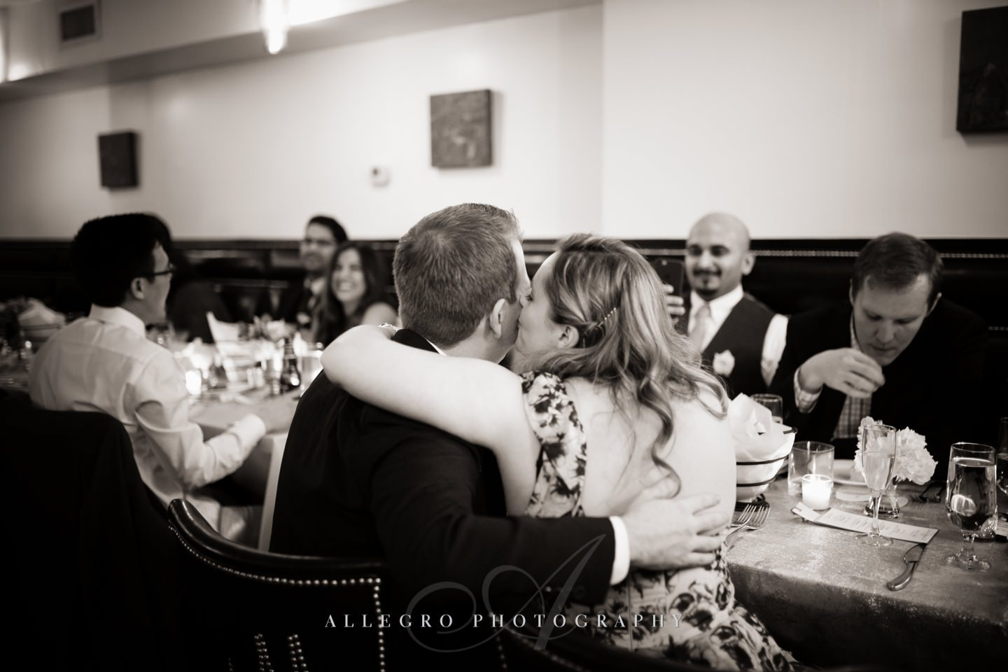 guest having fun - photo by Allegro Photography