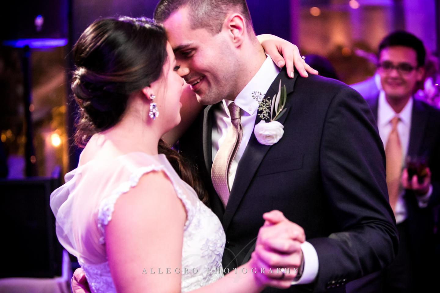 first dance- - photo by Allegro Photography