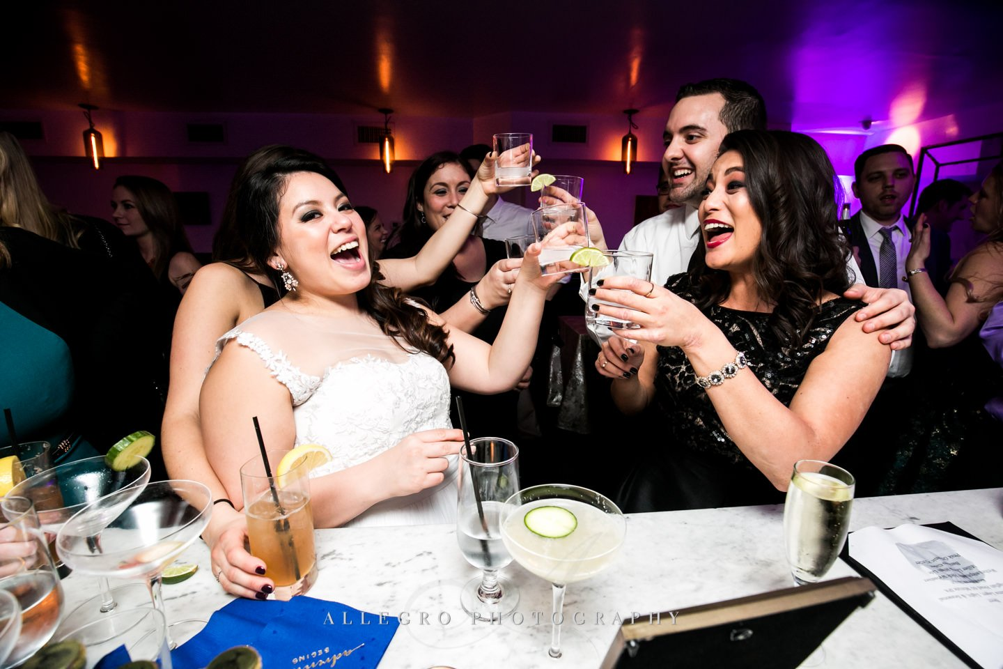 a toast - photo by Allegro Photography