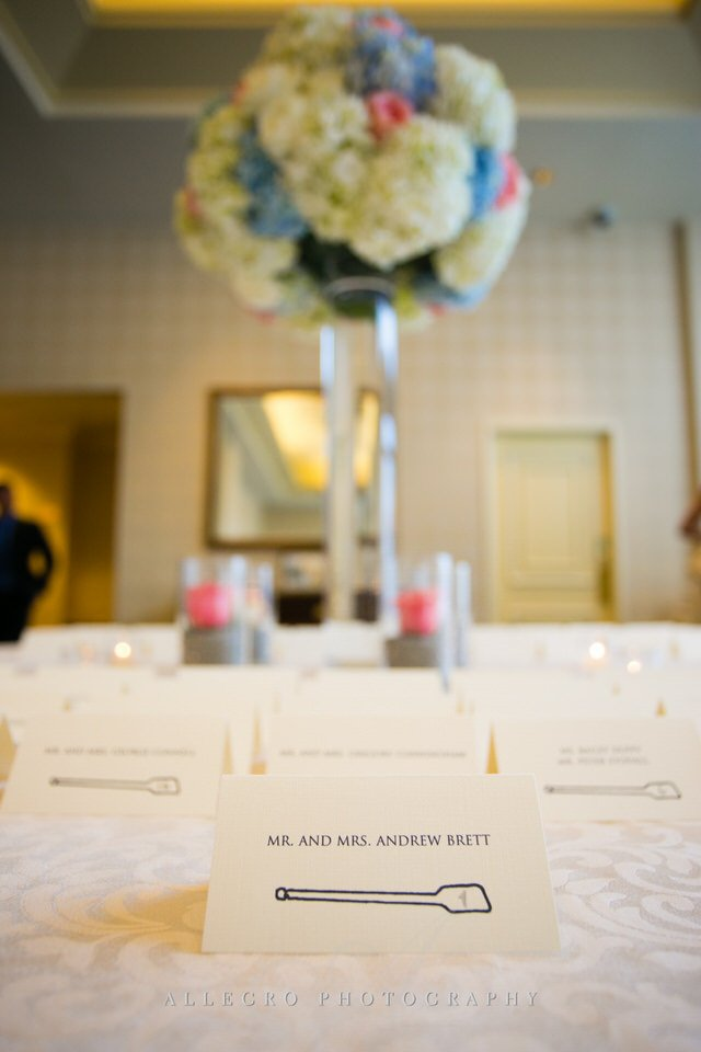 escort card table -  photo by Allegro Photography