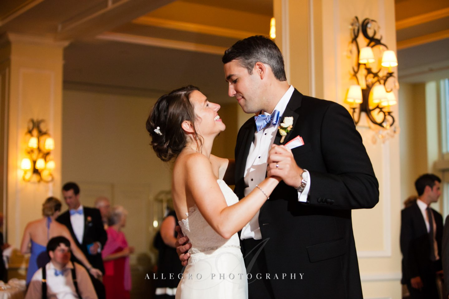 first dance photo by Allegro Photography