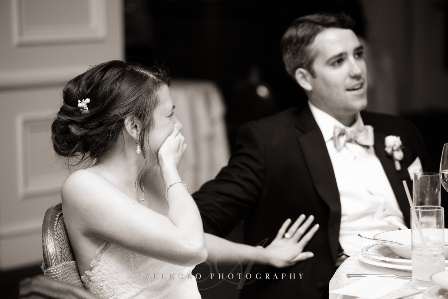 toast laughter photo by Allegro Photography