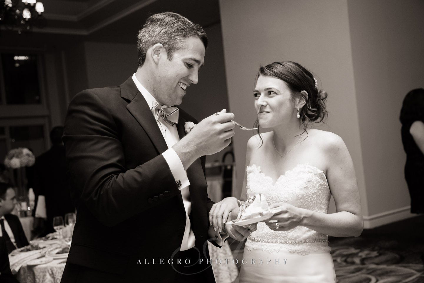 cake  photo by Allegro Photography