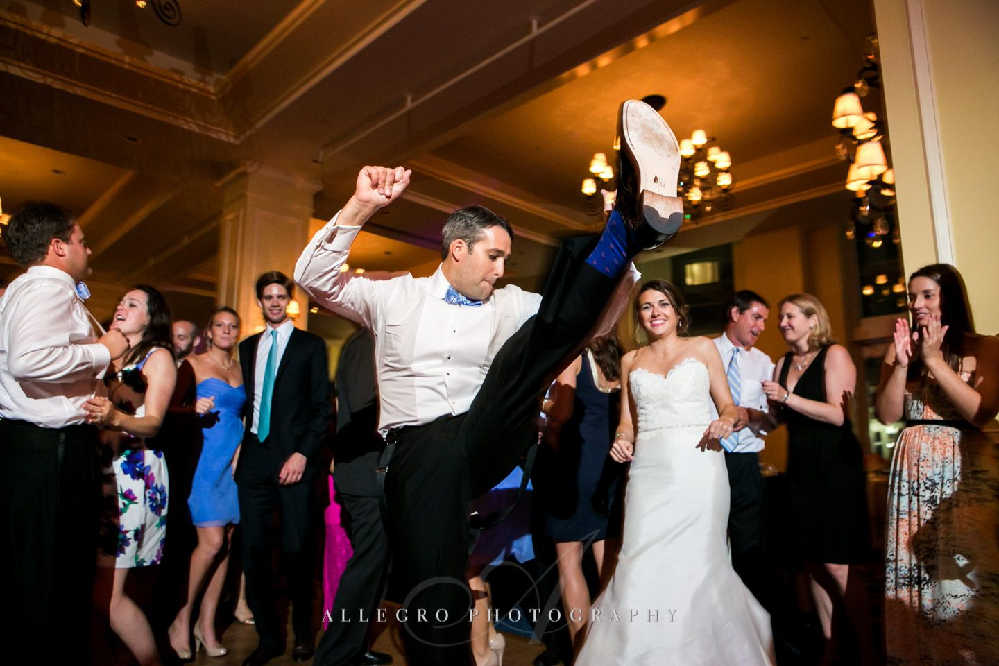 high kick  photo by Allegro Photography