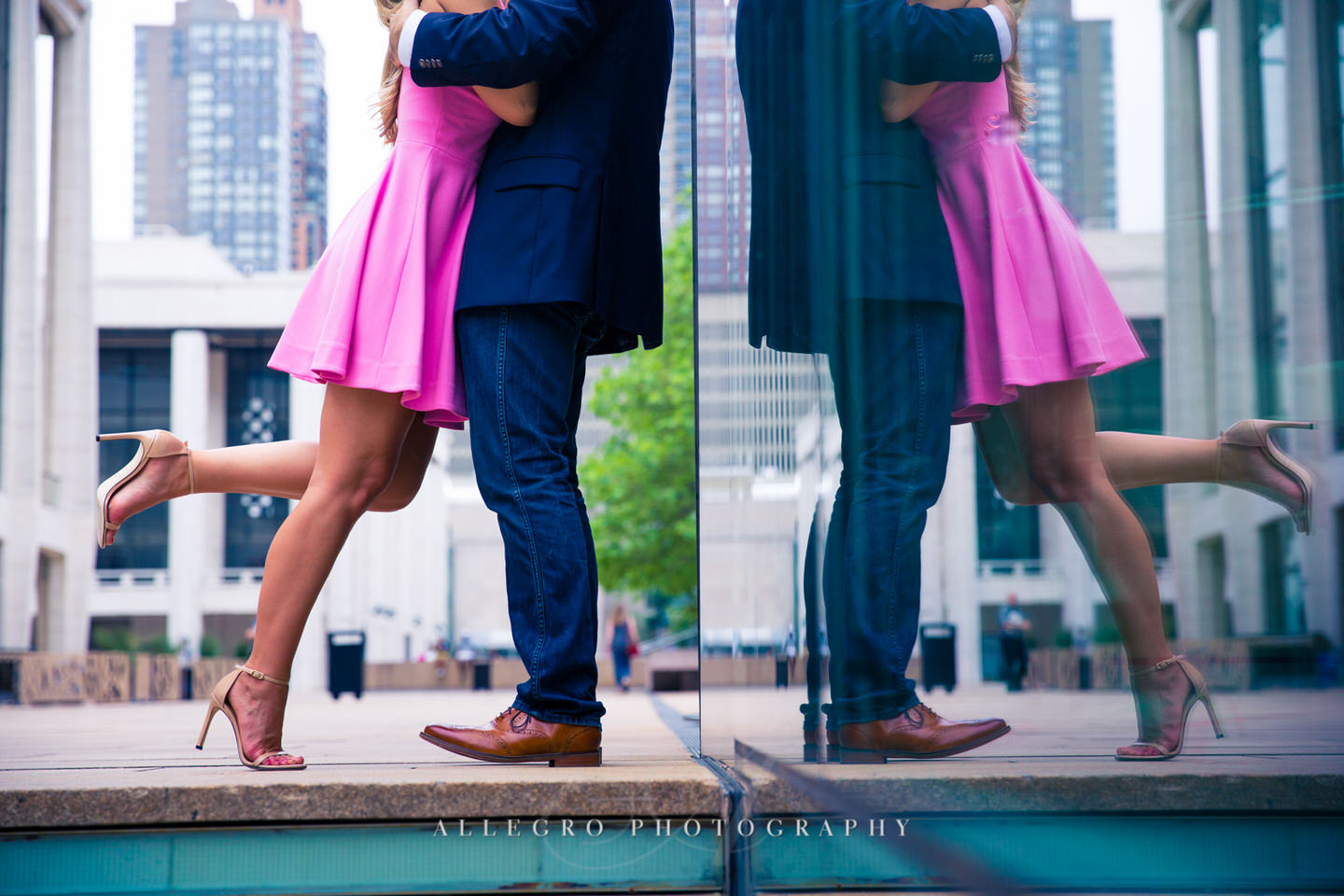 lincoln center manhattan e-session photo by Allegro Photography