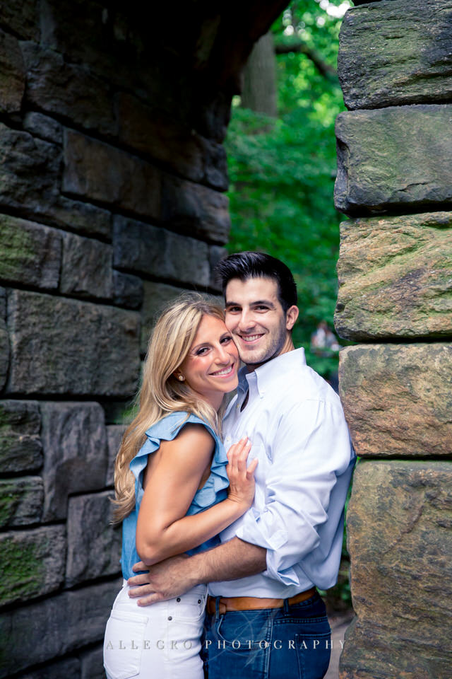 central park manhattan e-session photo by Allegro Photography