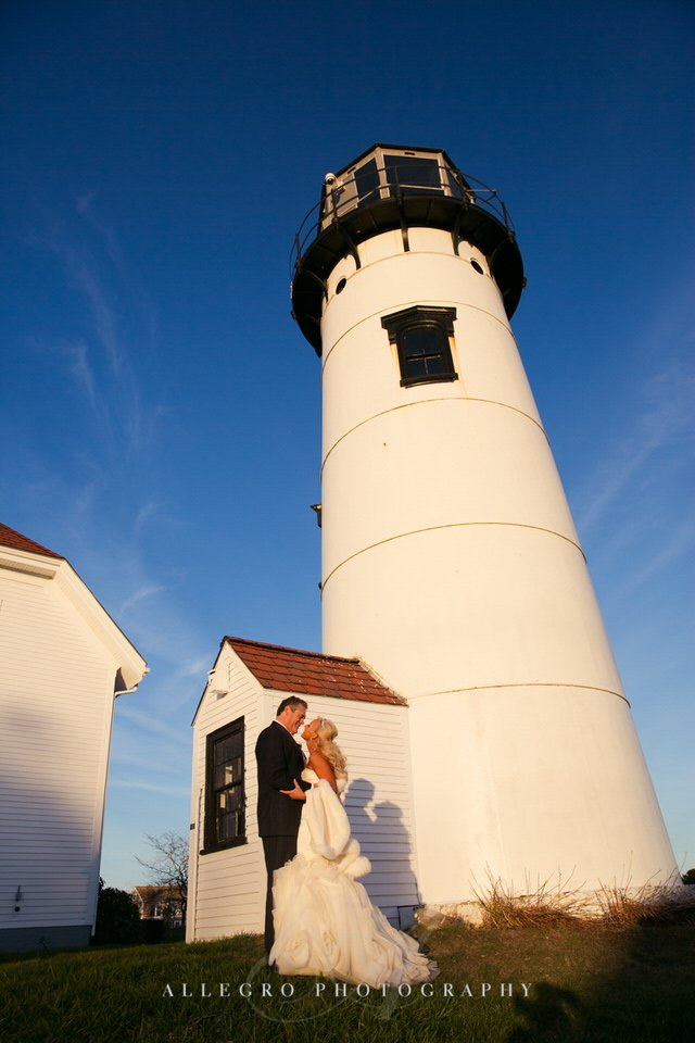 Wedding Photo by Allegro Photography at Chatham Light House