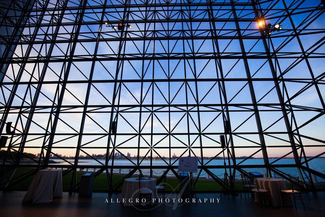 jfk library wedding - photo by Allegro Photography