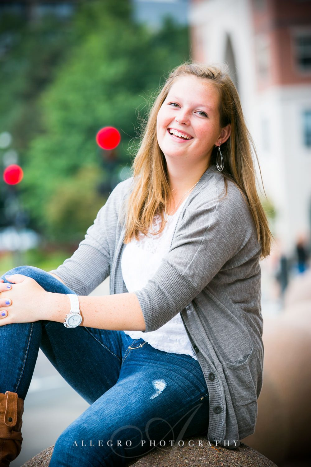 Wellesley Senior Photos Allegro Photography