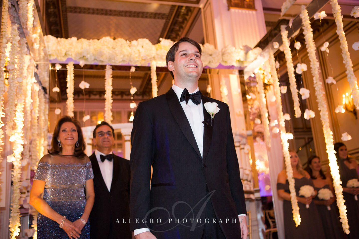 jewish wedding - fairmont copley plaza wedding photo by Allegro Photography