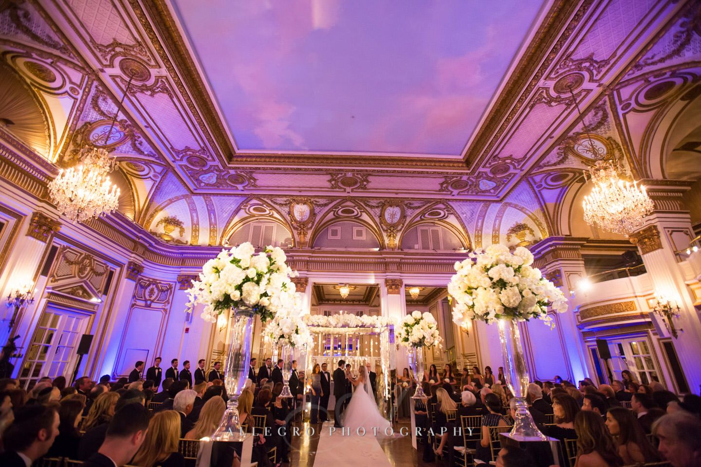 Jewish Wedding Fairmont Copley Plaza Photo By Allegro Photography
