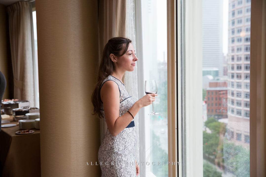 boston harbor hotel views - photo by allegro photography