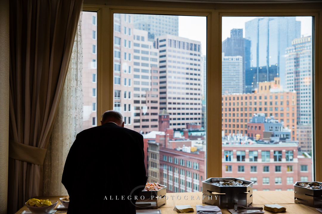 boston harbor hotel city view - photo by allegro photography