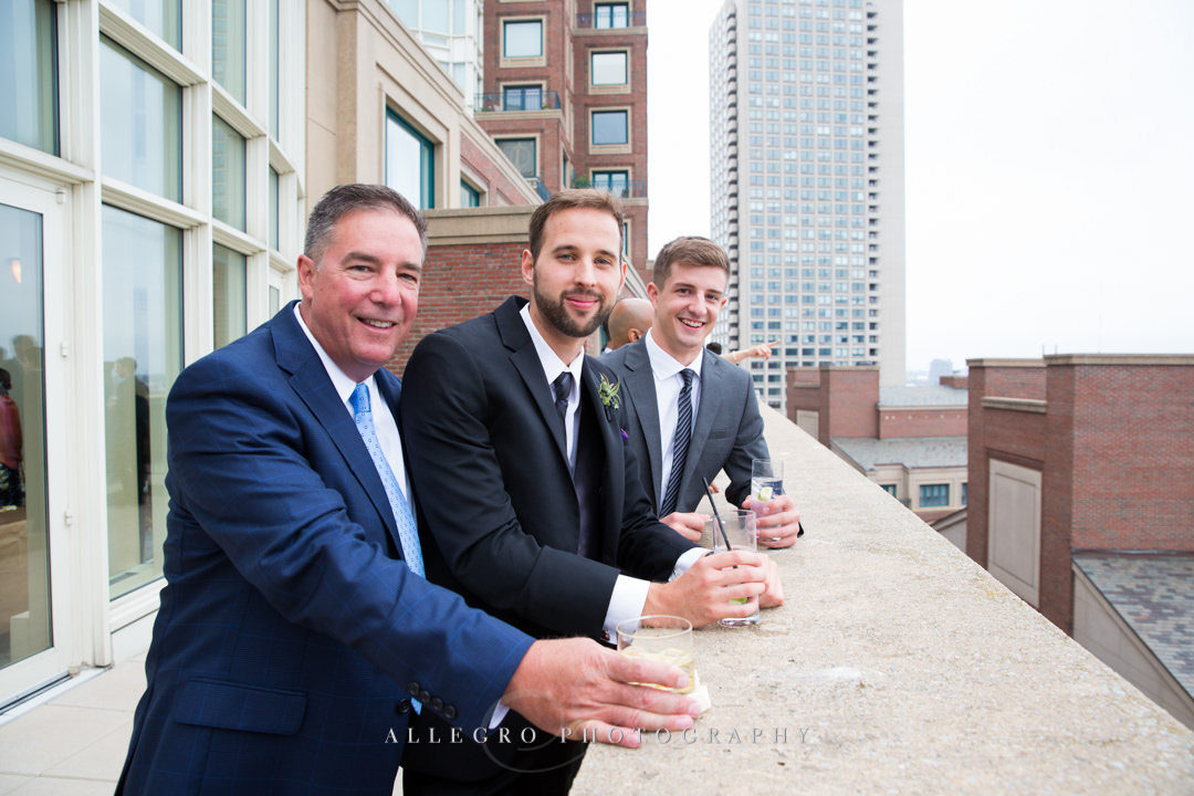 boston harbor hotel wedding guest - photo by allegro photography