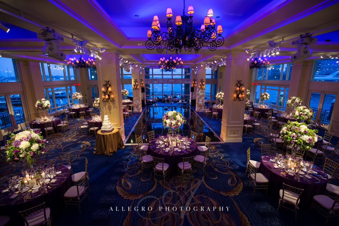 boston harbor hotel wedding - photo by allegro photography