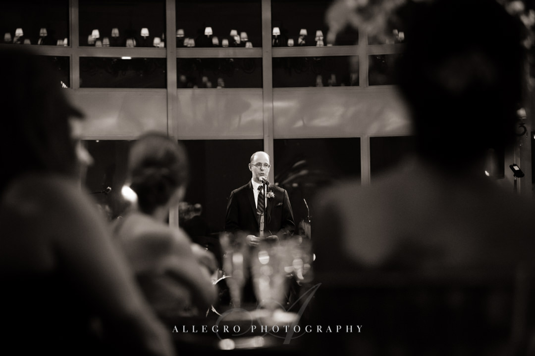 best man speech boston harbor hotel - photo by allegro photography