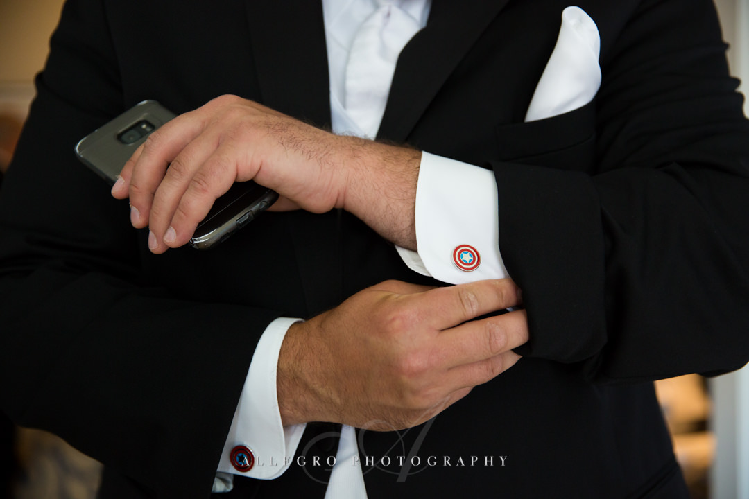 Boston Wedding Groom Details - photo by allegro photography