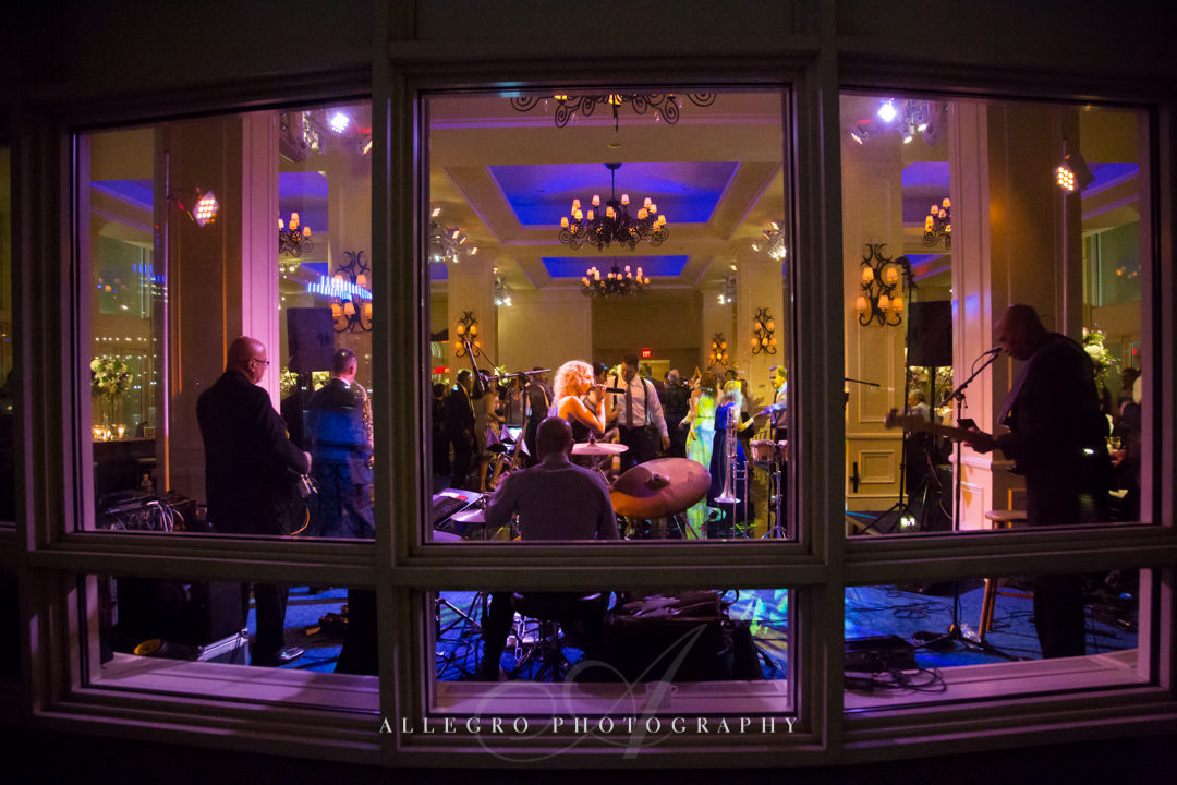boston harbor hotel wedding view - photo by allegro photography
